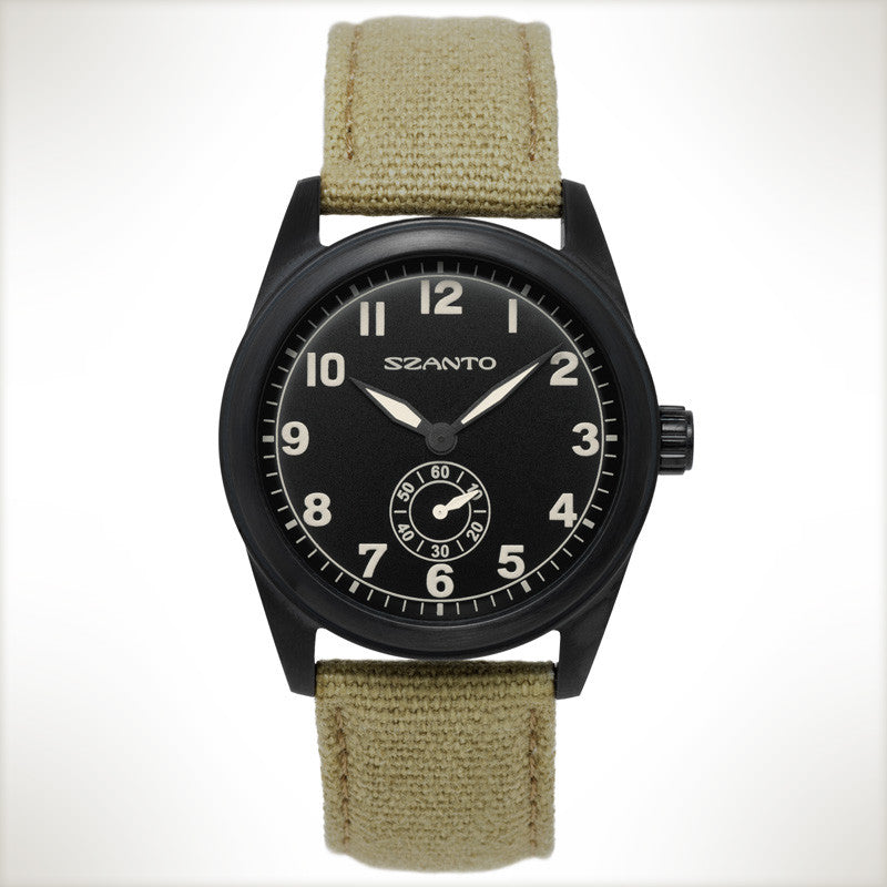 Szanto Watch Model # 1003 - Watch Aficionado 24 - 1