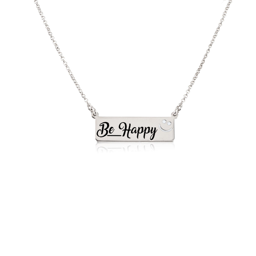Collana choker be happy