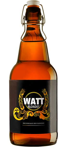 Sylter Genussmacherei  WATT Bier  BLONDES