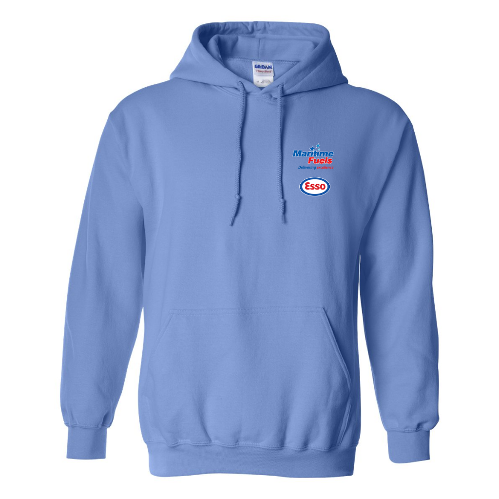 Maritime Fuels- Pullover Hoodie, Light Blue