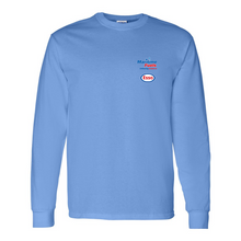 Load image into Gallery viewer, Maritime Fuels- Long Sleeve Shirt, Light blue