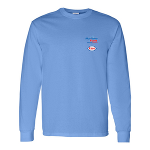 Maritime Fuels- Long Sleeve Shirt, Light blue