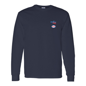 Maritime Fuels- Long Sleeve Shirt, Navy