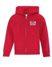 Load image into Gallery viewer, BLT SR - Zipper Hoodie, Red
