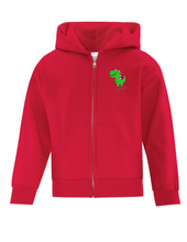 Load image into Gallery viewer, BLT JR - Zipper Hoodie, Red