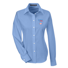 Load image into Gallery viewer, Maritime Fuels - Devon & Jones Solid Oxford, Light Blue