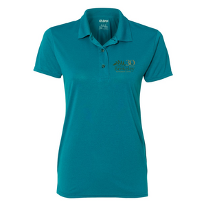 The Berkeley- Dri-Wicking Polo, green