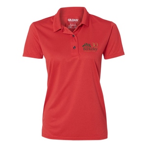The Berkeley- Dri-Wicking Polo, red