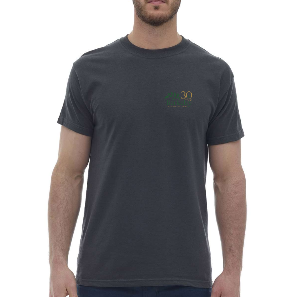 The Berkeley - T-Shirt, Charcoal