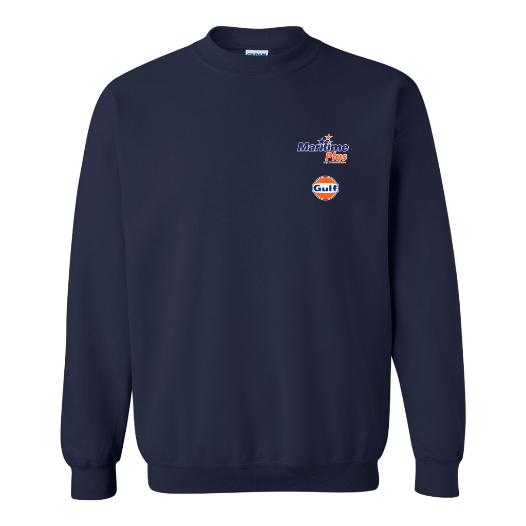 Maritime Plus - Unisex Crewneck Fleece, Navy