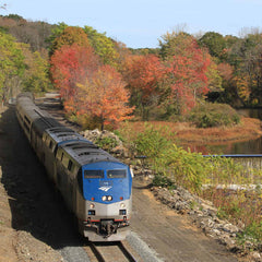 2021 New England Fall Colors by Rail