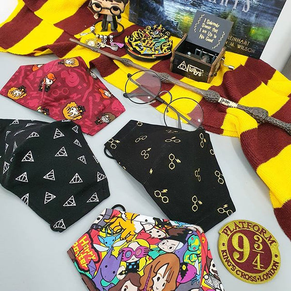 Harry Potter Fabric Masks