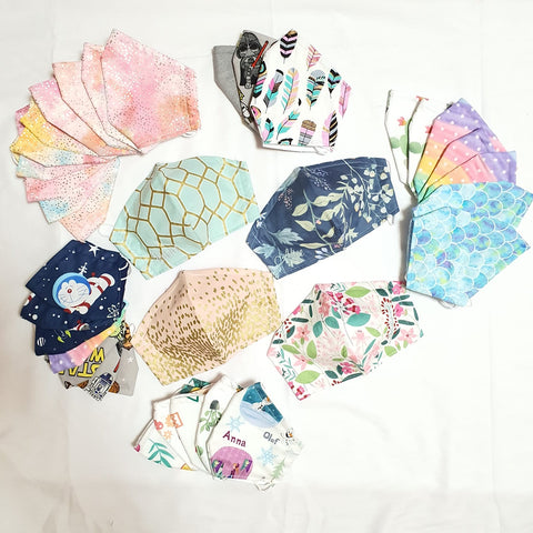 Floral Fabric Masks