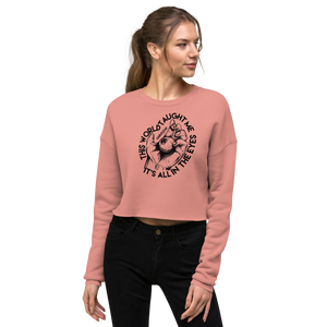 All in the Eyes Crop Sweatshirt