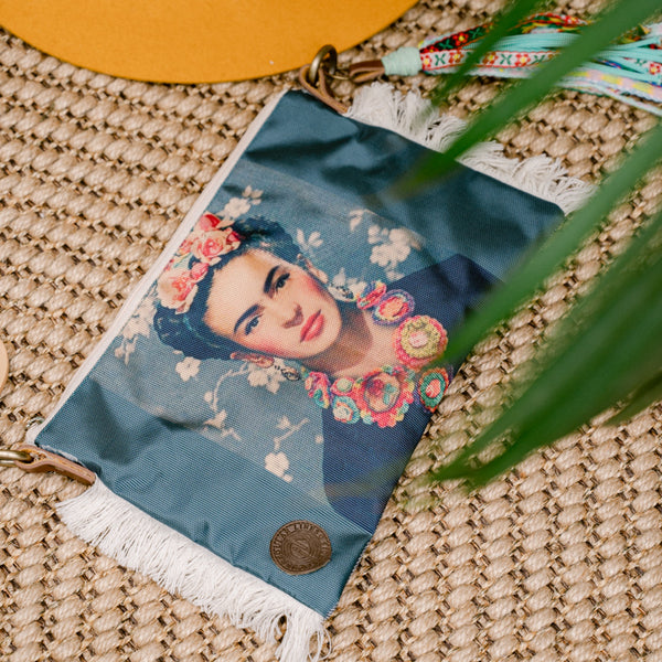 Frida Kahlo Crossing Purse FK18 - IrregularLines
