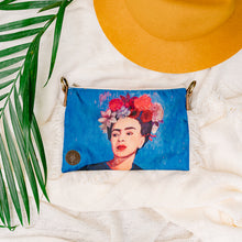 Load image into Gallery viewer, Frida Kahlo Crossing Purse FK17 - IrregularLines