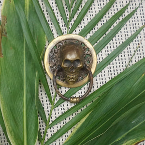 SKULL CABINET HANDLE - IrregularLines