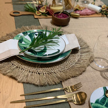 Load image into Gallery viewer, Rattan Place Mat - IrregularLines