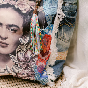 Frida Kahlo Tote Bag FK25 - IrregularLines