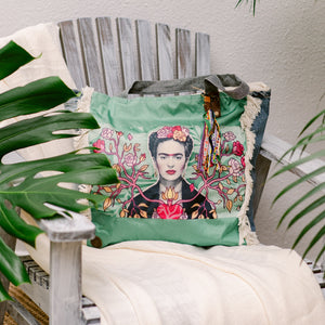 Frida Kahlo Tote Bag FK21 - IrregularLines