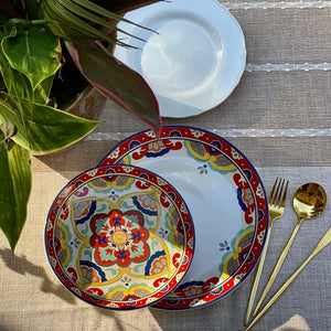 Moroccan Dinner Plate - IrregularLines