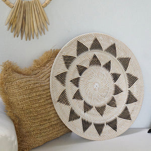 Star Wall Disc / Tray White - IrregularLines