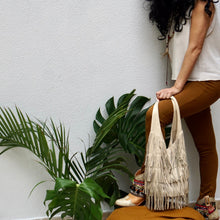 Load image into Gallery viewer, Cowgirl Round Bag with tassels - IrregularLines