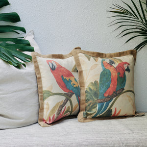 Parrot Cushion Cover - IrregularLines