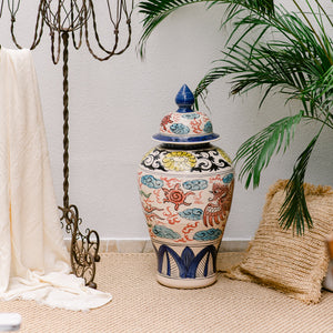 Chinese hand painted Vase - IrregularLines