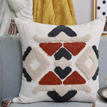 Load image into Gallery viewer, Boho Ethnic Square Cushion Cover - IrregularLines