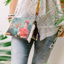 Load image into Gallery viewer, FRIDA KAHLO CROSSING PURSE - IrregularLines