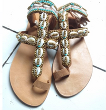 Load image into Gallery viewer, Ocean Blue Sandals - IrregularLines