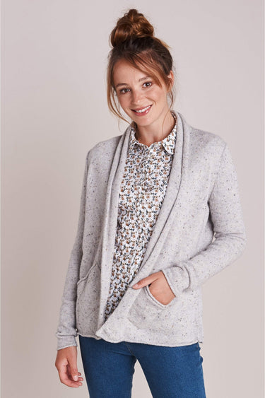 Take The Edge Cardi in Roundstone