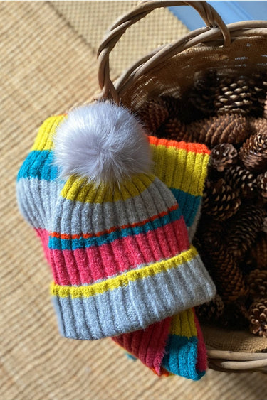 Noor Stripe Hat