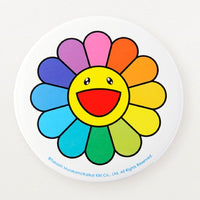 Takashi Murakami Rainbow Flower Badge