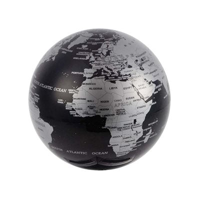 Magic Revolving Globe Black