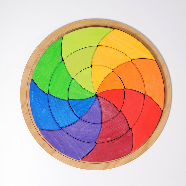Goethe's Colour Theory Puzzle and Building Set