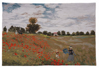 "Claude Monet Tapestry ""Poppy Field"""