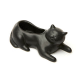 Black Cat Planter