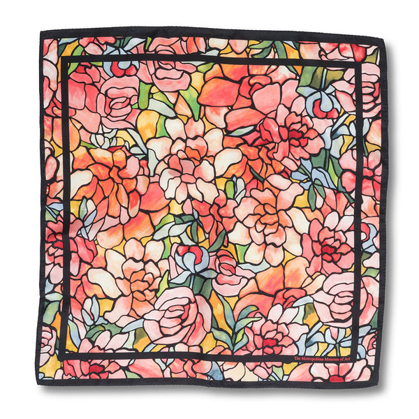 Tiffany Peonies Neckerchief
