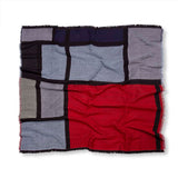 Mondrian Composition Shawl