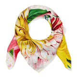 Botanical Blossoms Silk Scarf