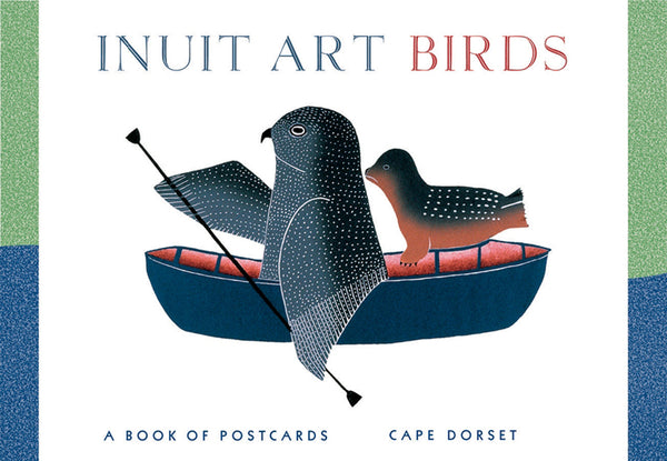 Inuit Art: Birds Postcard Book