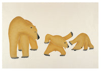 Inuit Art from Cape Dorset: Bears Folio Cards