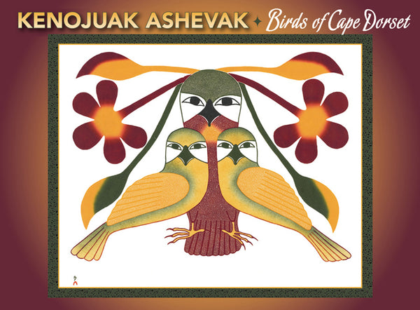 Kenojuak Ashevak Birds of Cape Dorset Boxed Cards