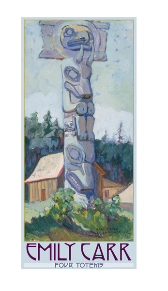 Emily Carr Four Totems Boxed Cards