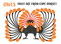 Inuit Art from Cape Dorset: Owls Boxed Cards
