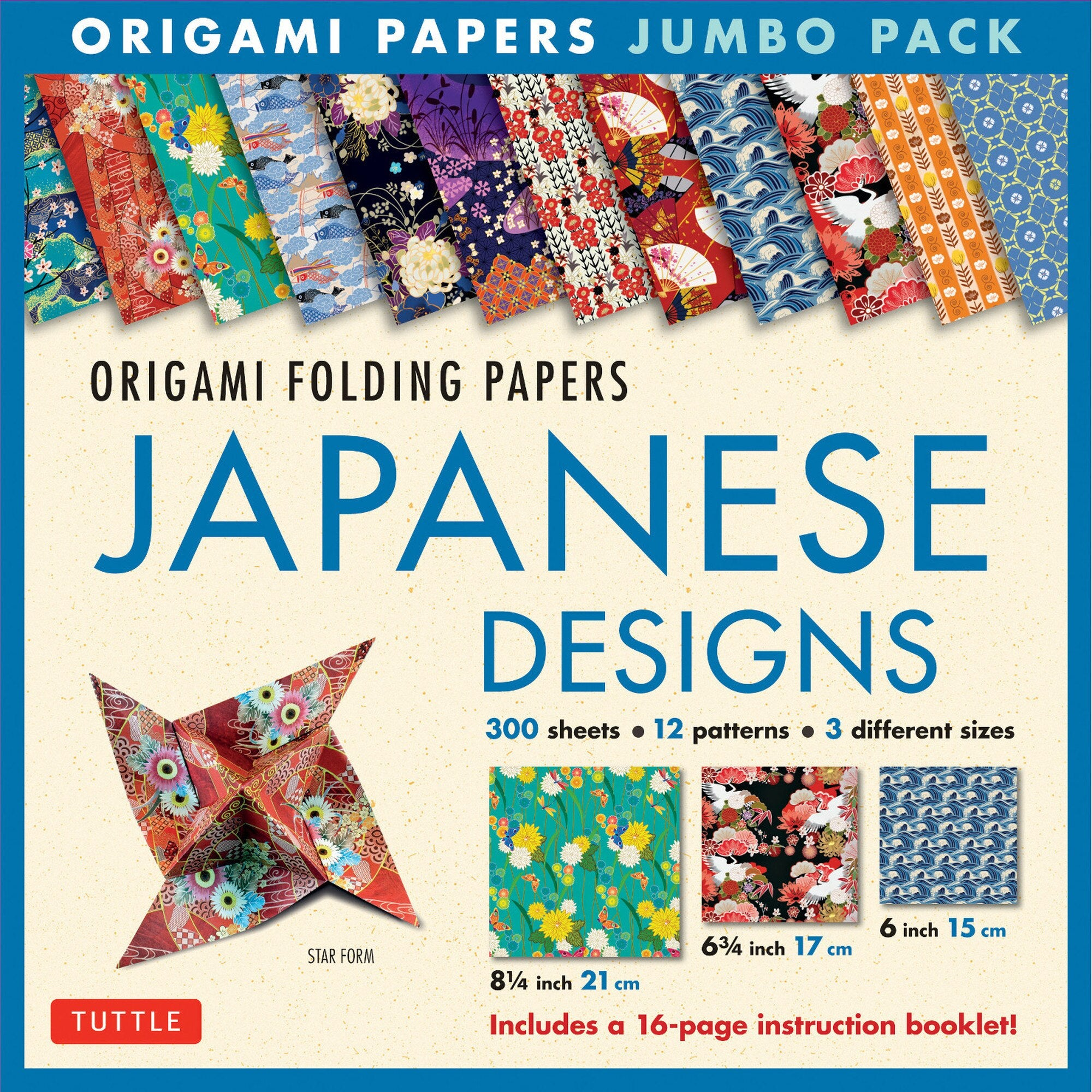 Origami Folding Papers: Japanese Designs