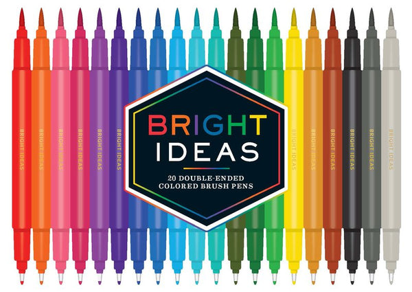 Bright Ideas Double-Ended Coloured Brush Pens