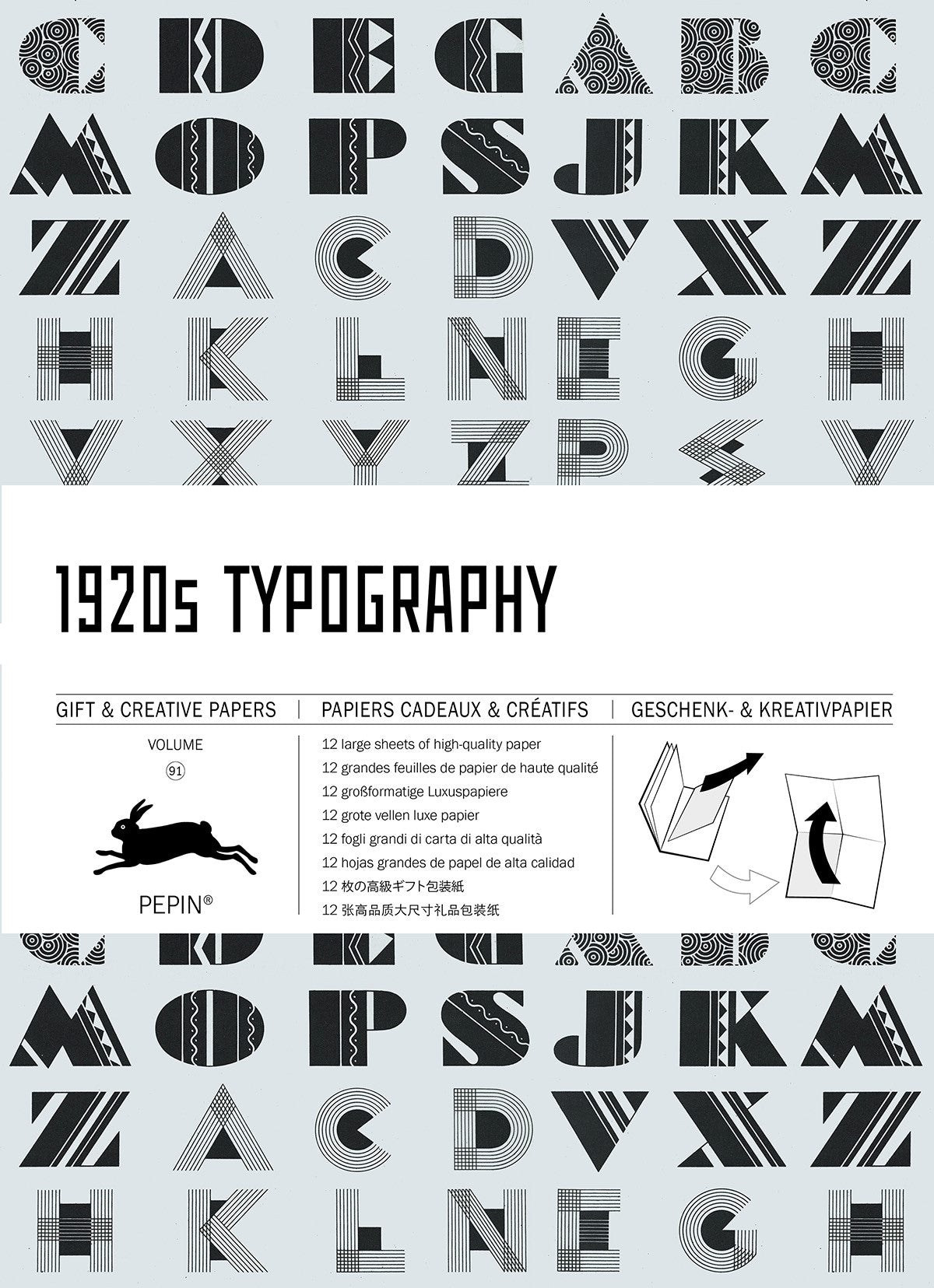 1920s Typography Gift & Creative Paper